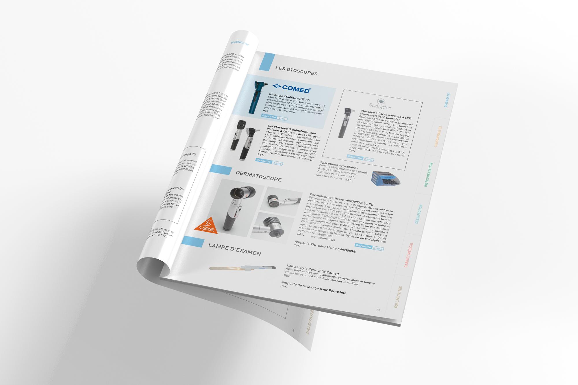 catalogue secteur medical